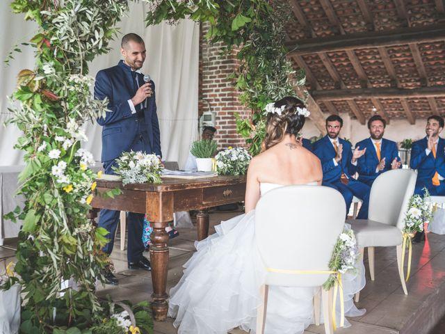 Il matrimonio di Alessandro e Silvia a Besate, Milano 39