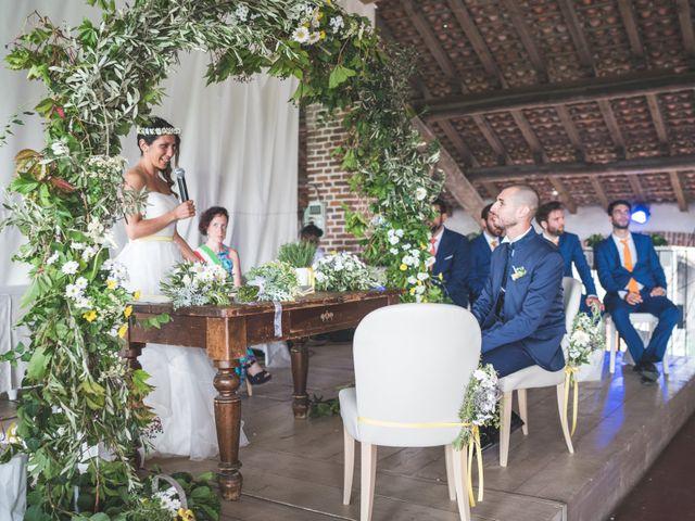 Il matrimonio di Alessandro e Silvia a Besate, Milano 40