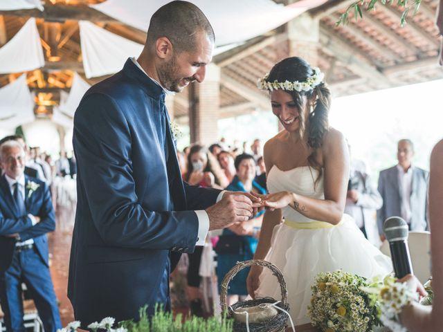 Il matrimonio di Alessandro e Silvia a Besate, Milano 41