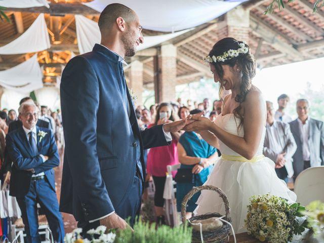 Il matrimonio di Alessandro e Silvia a Besate, Milano 42