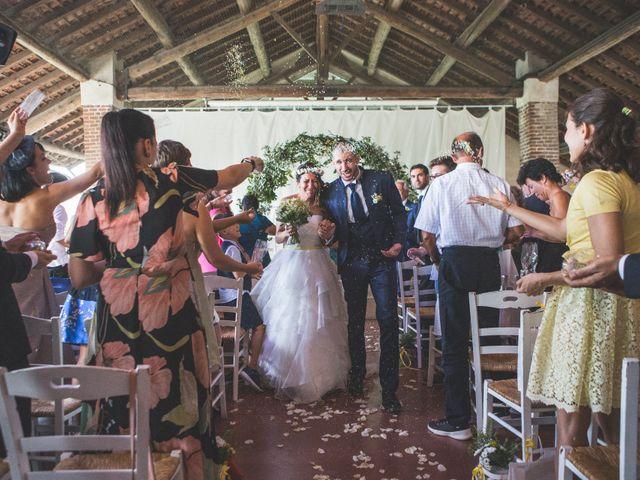 Il matrimonio di Alessandro e Silvia a Besate, Milano 44
