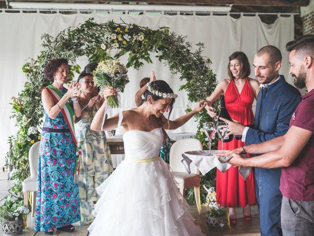 Il matrimonio di Alessandro e Silvia a Besate, Milano 46