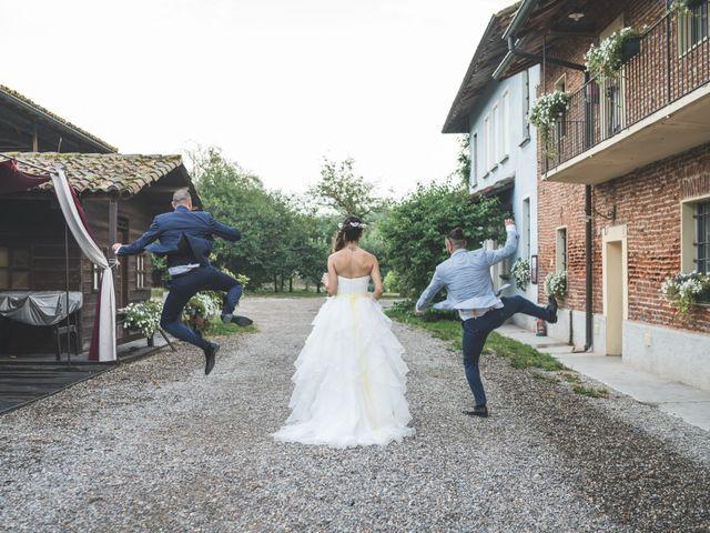 Il matrimonio di Alessandro e Silvia a Besate, Milano 49