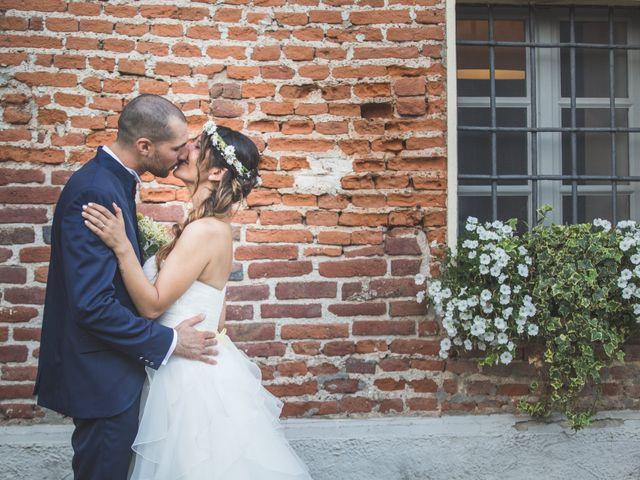 Il matrimonio di Alessandro e Silvia a Besate, Milano 50