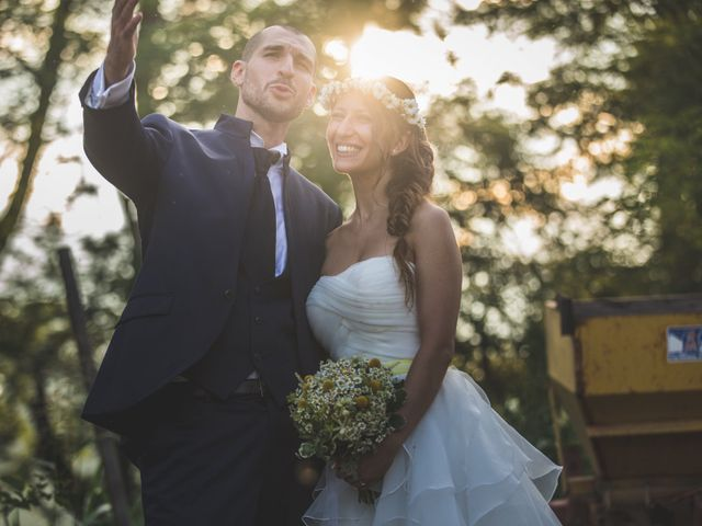 Il matrimonio di Alessandro e Silvia a Besate, Milano 56