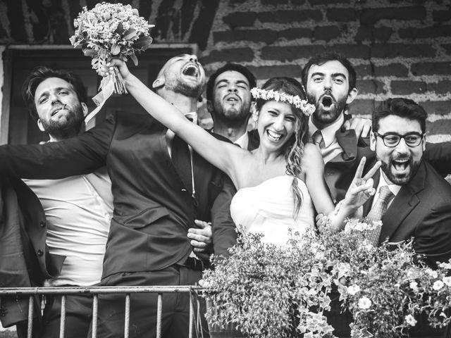 Il matrimonio di Alessandro e Silvia a Besate, Milano 63