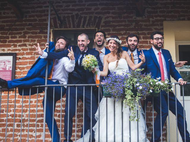Il matrimonio di Alessandro e Silvia a Besate, Milano 64