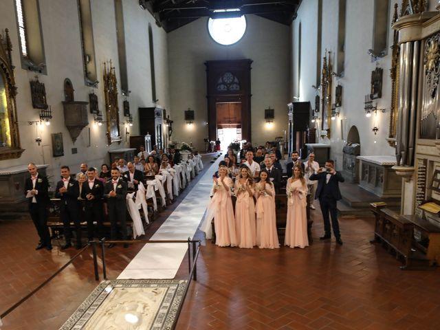 Il matrimonio di Matteo e Alma a Prato, Prato 43