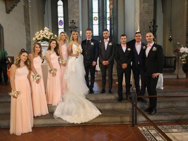 Il matrimonio di Matteo e Alma a Prato, Prato 48