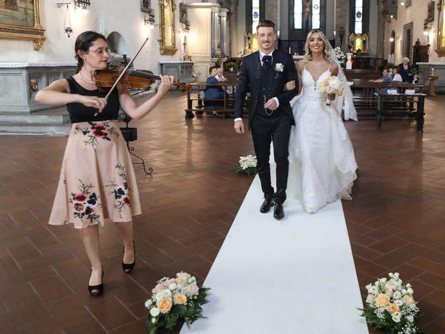 Il matrimonio di Matteo e Alma a Prato, Prato 49