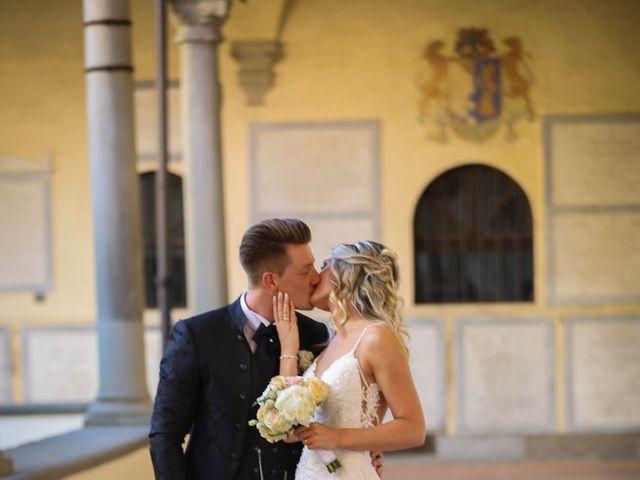 Il matrimonio di Matteo e Alma a Prato, Prato 55