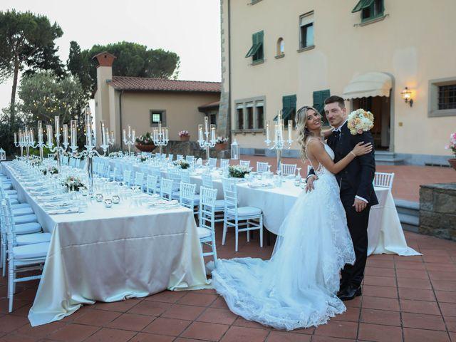 Il matrimonio di Matteo e Alma a Prato, Prato 63