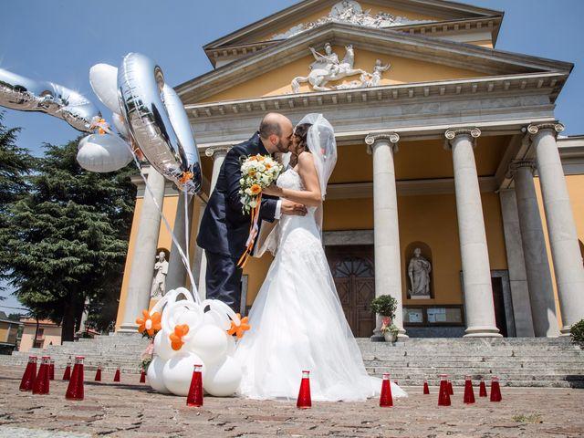 Il matrimonio di Daniele e Silvia a Casatenovo, Lecco 8