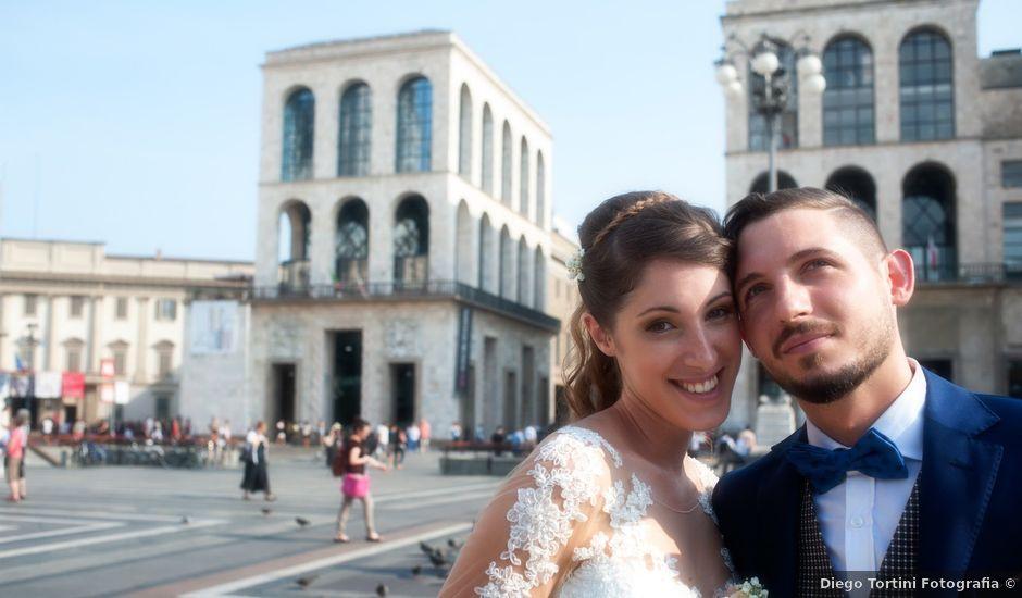 Il matrimonio di Mattia e Francesca a Milano, Milano