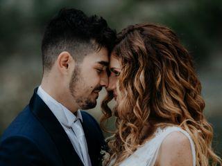 Le nozze di Mandy e Daniel