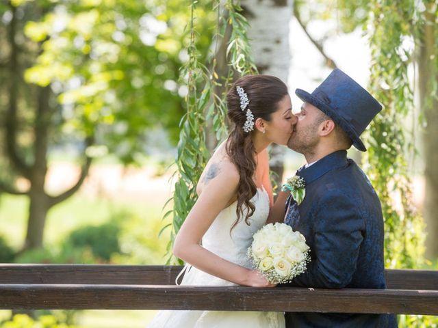 Il matrimonio di Davide e Valentina a Pavia, Pavia 16