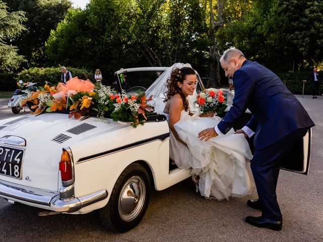 Il matrimonio di Simone e Lisa a Monsummano Terme, Pistoia 24