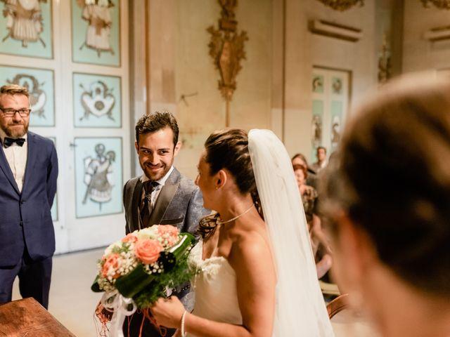 Il matrimonio di Simone e Lisa a Monsummano Terme, Pistoia 29