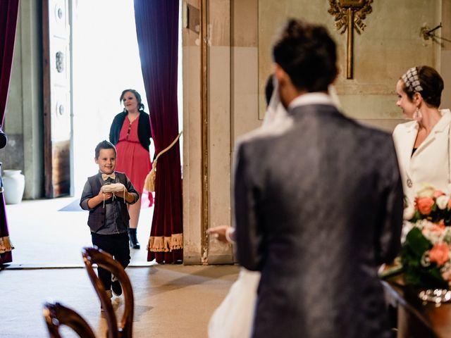 Il matrimonio di Simone e Lisa a Monsummano Terme, Pistoia 30