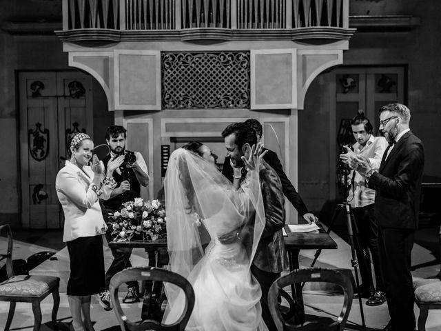Il matrimonio di Simone e Lisa a Monsummano Terme, Pistoia 32