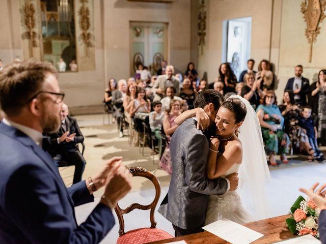Il matrimonio di Simone e Lisa a Monsummano Terme, Pistoia 33