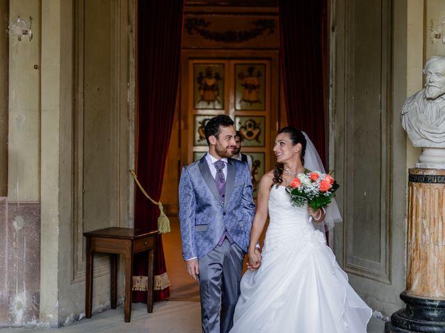 Il matrimonio di Simone e Lisa a Monsummano Terme, Pistoia 35