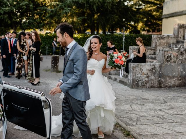 Il matrimonio di Simone e Lisa a Monsummano Terme, Pistoia 41