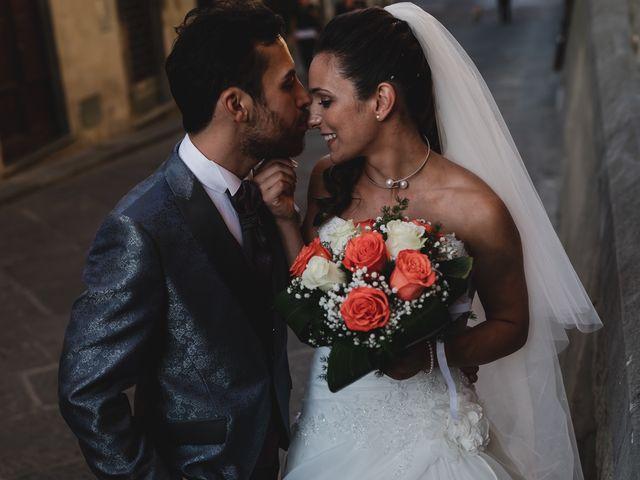 Il matrimonio di Simone e Lisa a Monsummano Terme, Pistoia 48
