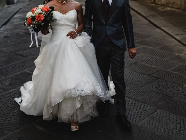 Il matrimonio di Simone e Lisa a Monsummano Terme, Pistoia 52