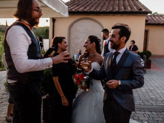 Il matrimonio di Simone e Lisa a Monsummano Terme, Pistoia 76