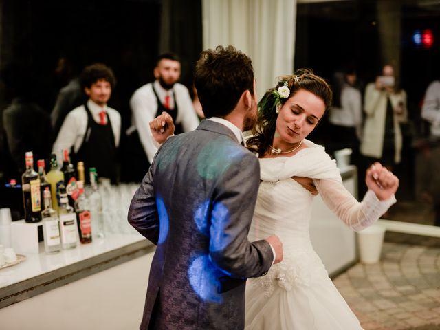 Il matrimonio di Simone e Lisa a Monsummano Terme, Pistoia 91