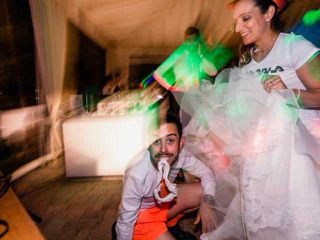 Il matrimonio di Simone e Lisa a Monsummano Terme, Pistoia 109