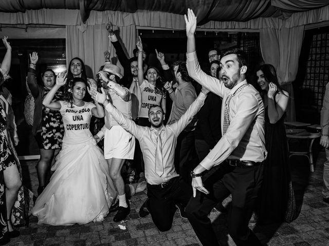 Il matrimonio di Simone e Lisa a Monsummano Terme, Pistoia 111