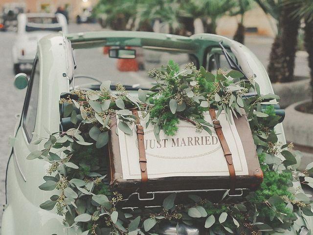 Il matrimonio di Zac e Michaela a Roma, Roma 10