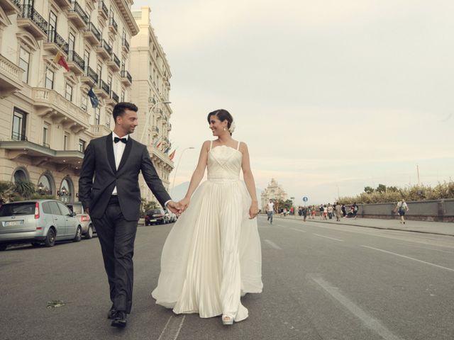 Il matrimonio di Massimiliano e Serena a Napoli, Napoli 18
