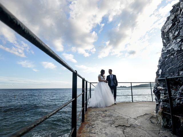Il matrimonio di Andrea e Paola a Zoagli, Genova 87