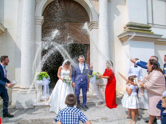 Il matrimonio di Davide e Desirée a Tombolo, Padova 34