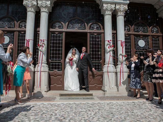 Il matrimonio di Fabio e Claudia a Busto Arsizio, Varese 25