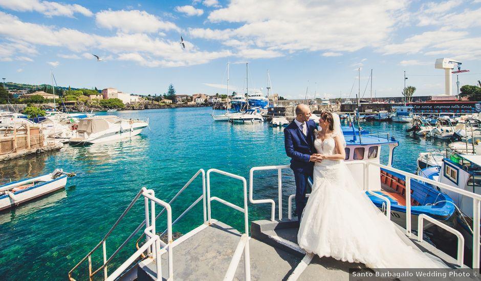 Il matrimonio di Giuseppe e Elena a Catania, Catania