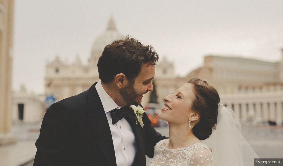 Il matrimonio di Zac e Michaela a Roma, Roma