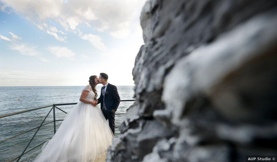Il matrimonio di Andrea e Paola a Zoagli, Genova