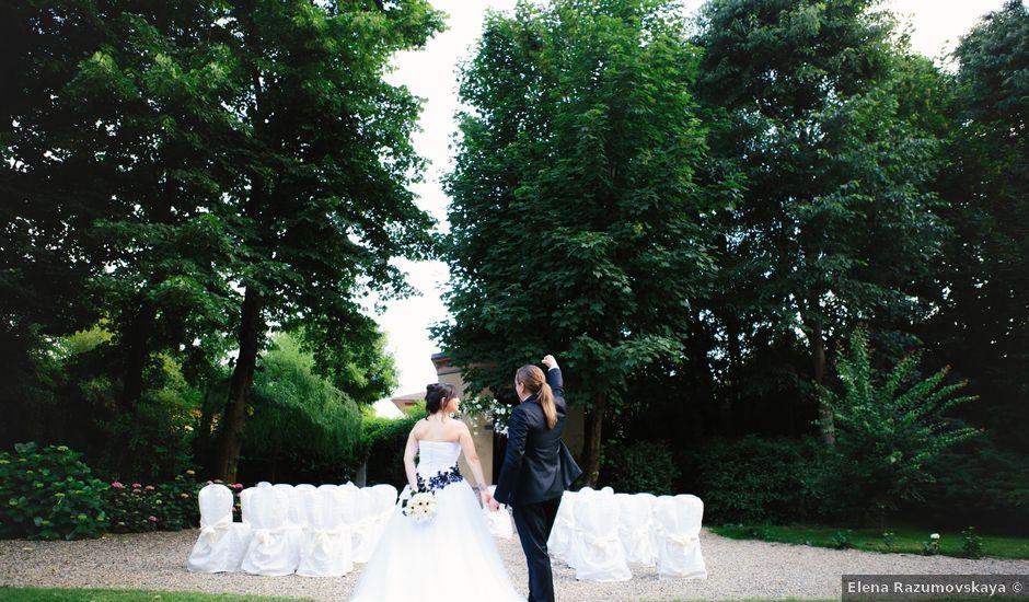 Il matrimonio di Cristiano e Francesca a Gropello Cairoli, Pavia