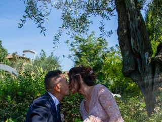 Le nozze di Claudia e Antonino 1