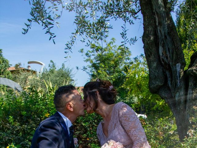 Il matrimonio di Antonino e Claudia a Erbusco, Brescia 3