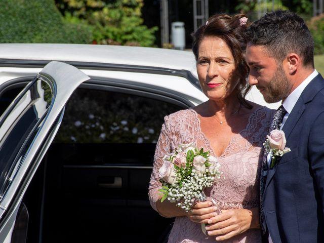 Il matrimonio di Antonino e Claudia a Erbusco, Brescia 10
