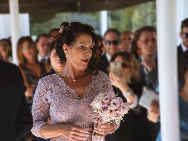Il matrimonio di Antonino e Claudia a Erbusco, Brescia 12