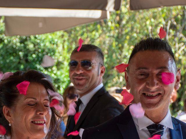 Il matrimonio di Antonino e Claudia a Erbusco, Brescia 16