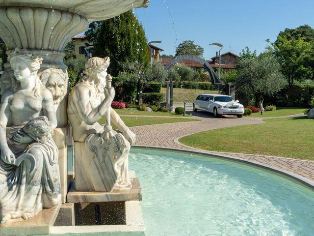 Il matrimonio di Antonino e Claudia a Erbusco, Brescia 21