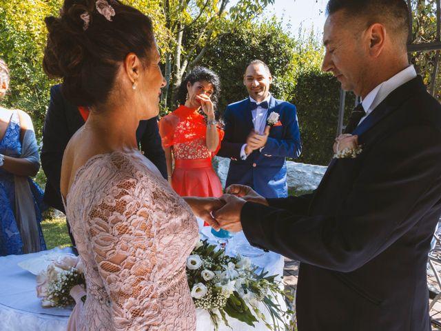 Il matrimonio di Antonino e Claudia a Erbusco, Brescia 25