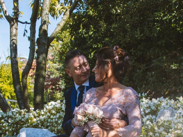 Il matrimonio di Antonino e Claudia a Erbusco, Brescia 26